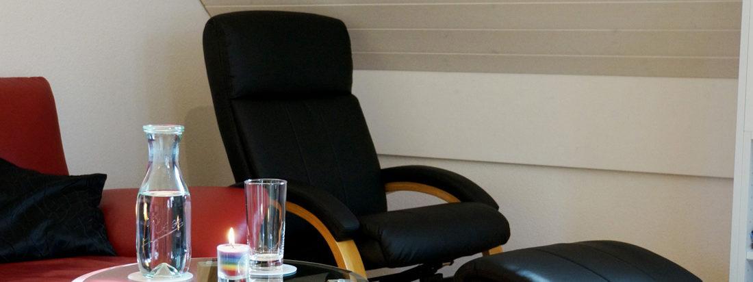 Behandlungsraum - Relaxsessel